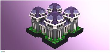 [DOWNLOAD] Purple Factions Spawn Minecraft Map & Project