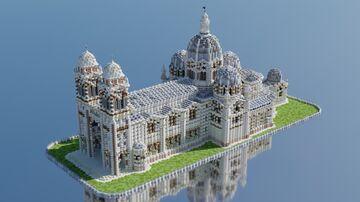 Cathédrale La Major - Marseille 1:1 scale Minecraft Map & Project