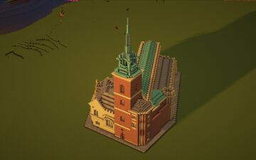 All Hallows-by-the-Tower, London Minecraft Map & Project