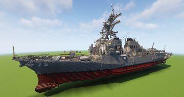 Arleigh Burke Class Destroyer DDG-79 (Flight IIA) Minecraft Map & Project