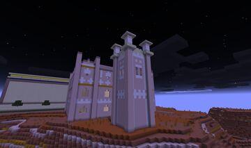 0AD Kushite (Nubian) Watch Tower Minecraft Map & Project