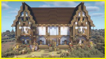 ⚒️ Minecraft: Town Hall Tutorial Minecraft Map & Project