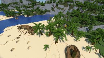 Abandoned Pirate Island [Buccaneer Bay Build Contest] Minecraft Map & Project