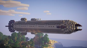 Movecraft Air Battleship - Bouvet Minecraft Map & Project
