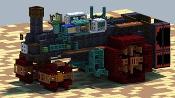 Case 150, Steam Tractor [With Download] Minecraft Map & Project