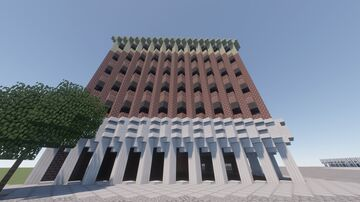 Old Federal Building Minecraft Map & Project