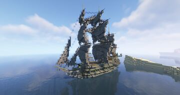 Flying Dutchman Galleon (Schematic) Minecraft Map & Project