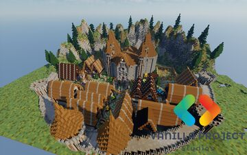 🏰Medieval spawn🏰 Minecraft Map & Project