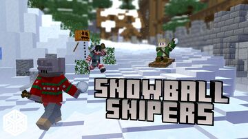 Snowball Snipers Minecraft Map & Project