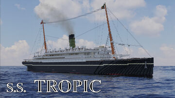 SS TROPIC (1906) [FULL INTERIOR] Minecraft Map & Project