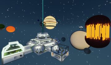 Outer Space Hunt Minecraft Map & Project