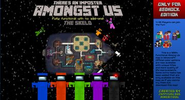 Amongst Us: The Skeld Minecraft Map & Project
