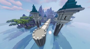 Tidal Isle Aka Water Gym (Commissioned by MagmaBuilds) Minecraft Map & Project