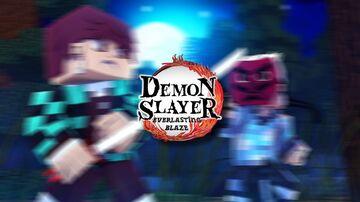 Demon Slayer : Everlasting Blaze [Console Server on Realm] BEDROCK BETA Minecraft Map & Project
