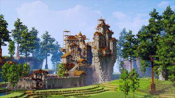 a vagabond fortress Minecraft Map & Project