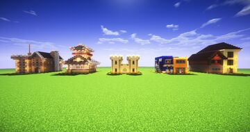 Chunk Castles Minecraft Map & Project