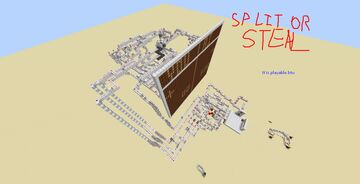 Working REDSTONE PLAYABLE Steal or Split Minecraft Map & Project
