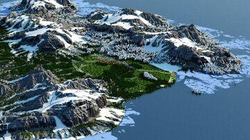 Kratbergen - An Alpine Map (4k, Download, 1.12 & 1.16+, Java & Bedrock, Minecraft Survival World ) Minecraft Map & Project