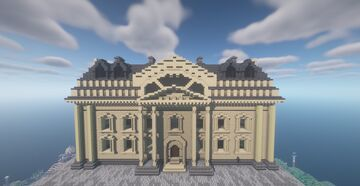 Law Court / Palace of Justice Minecraft Map & Project