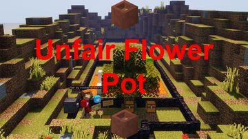 Unfair Flower Pot Minecraft Map & Project