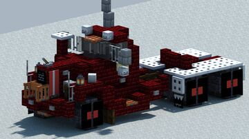 Mack B81, truck  [With Download] Minecraft Map & Project
