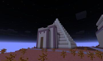 0AD Kushite (Nubian) Pyramid Minecraft Map & Project