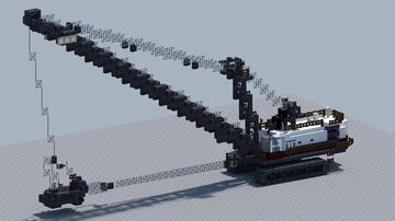Lima 2400B Dragline. [With Download] Minecraft Map & Project