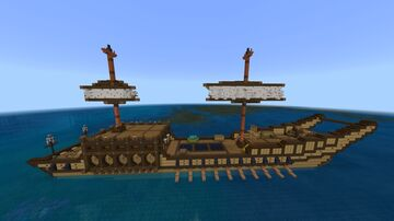 Mongolian ships from Ghost of Tsushima in Minecraft Minecraft Map & Project