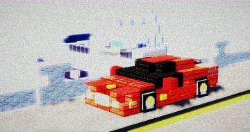 Ferrari Testarossa Minecraft Map & Project