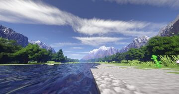 River Map Minecraft Map & Project