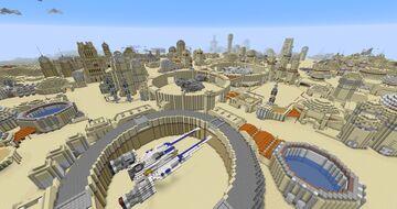 Star Wars - Tatooine Map Minecraft Map & Project