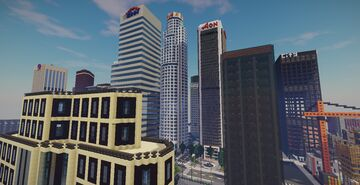 Minecraft Map - Los Angeles City (trailer) Minecraft Map & Project