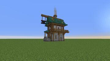 Blacksmithing House Minecraft Map & Project