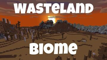Wasteland Biome Minecraft Map & Project