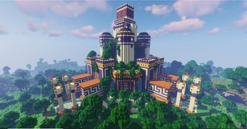 Ancient Jungle Temple Minecraft Map & Project