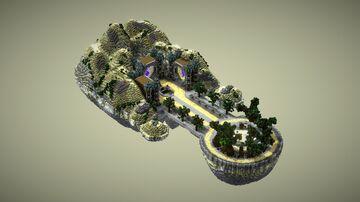 Desert island spawn V21 [6/6] Minecraft Map & Project