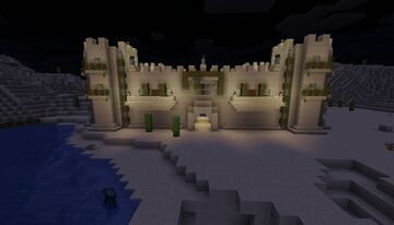 Cool sand castle Minecraft Map & Project