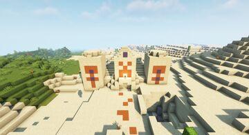 desert temple remake Minecraft Map & Project