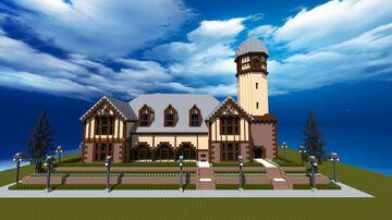 Village Hall Manor Minecraft Map & Project