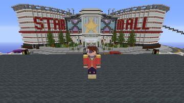thefamousfilms star mall up on server Minecraft Map & Project