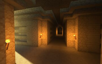 Modular Catacomb Labyrinth Minecraft Map & Project