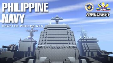 PHILIPPINE NAVY & NAVAL AIR GROUP Minecraft Map & Project
