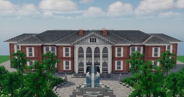 Fictional Manor Minecraft Map & Project