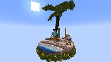 Summer Paradise Minecraft Map & Project