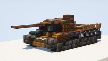 IS-1 heavy tank, 85mm gun - 1.5:1 scale Minecraft Map & Project