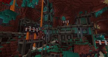 Nether Fantasy Castle Minecraft Map & Project