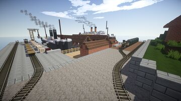 Traincraft Map America: Final Edition 2021 (1.7.10) Minecraft Map & Project