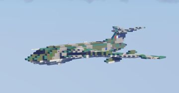 Handley Page Victor (1.5-1 scale) Minecraft Map & Project