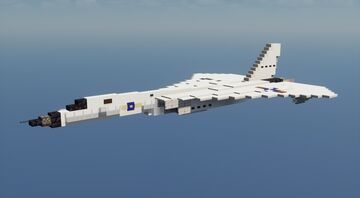 XF-108 Rapier - 1.5:1 Scale Minecraft Map & Project