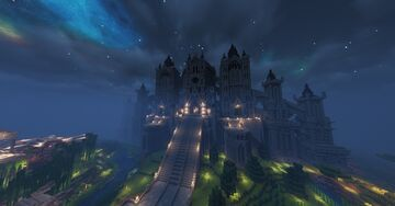Anor Londo Minecraft Map & Project